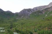 Weg zum Roßgumpe von der Kemptner Hütte Richtung Süden