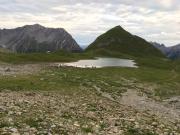 Bergsee südlich der Memminger Hütte