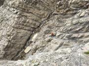 Abstieg durch Wasserfall