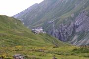 Blick auf die Kemptner Hütte