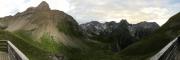Panorama Memminger Hütte
