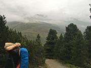 Aufstieg zur Matrin-Busch-Hütte