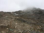 Aufstieg zur Ötzi-Fundstelle