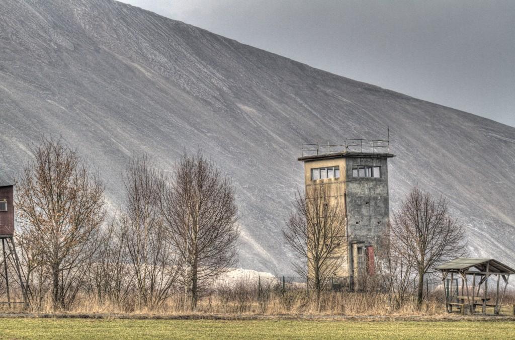 Grenze Salzberg